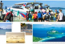 Krabi 4 Islands Tour Programs, The Four islands Tour consist of trips to local islands namely Chicken island, Poda island and Tub island  These islands makes picture perfect memories