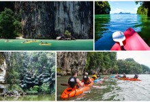 Sea Kayak Krabi Full Day and Half Day Trip Ao Thalen 0